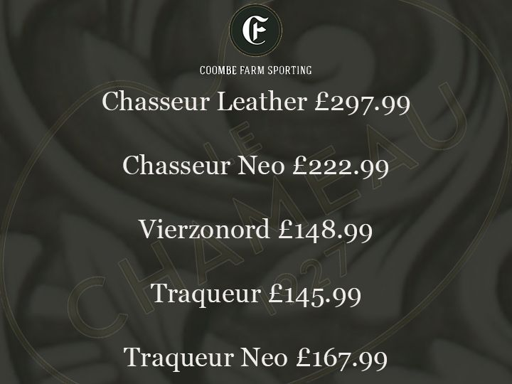 Le Chameau Boots Game Season offer!