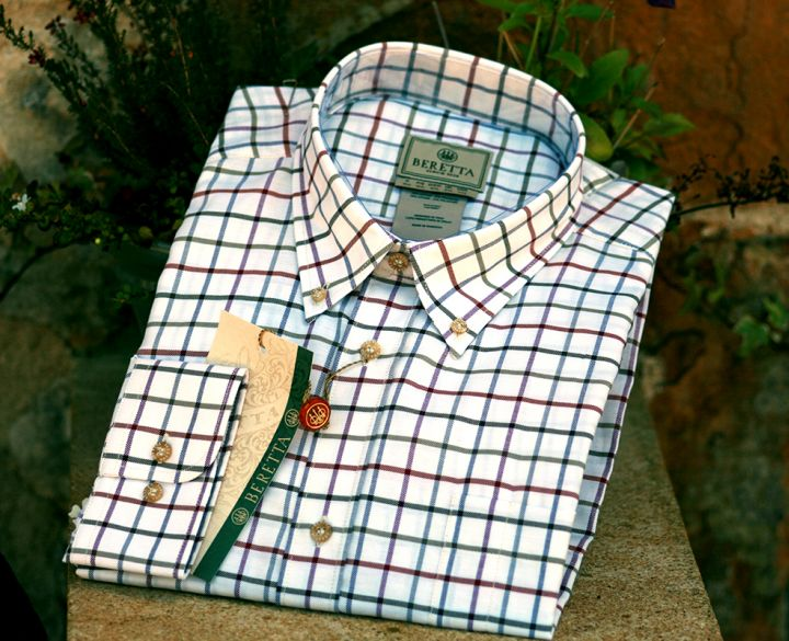 Beretta Classic shirt - red check,