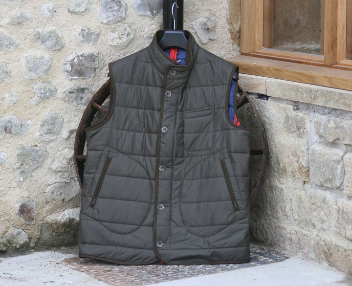 Laksen Donnington Quilted Vest - Green