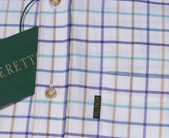 Beretta Shirt - Blue & Rope