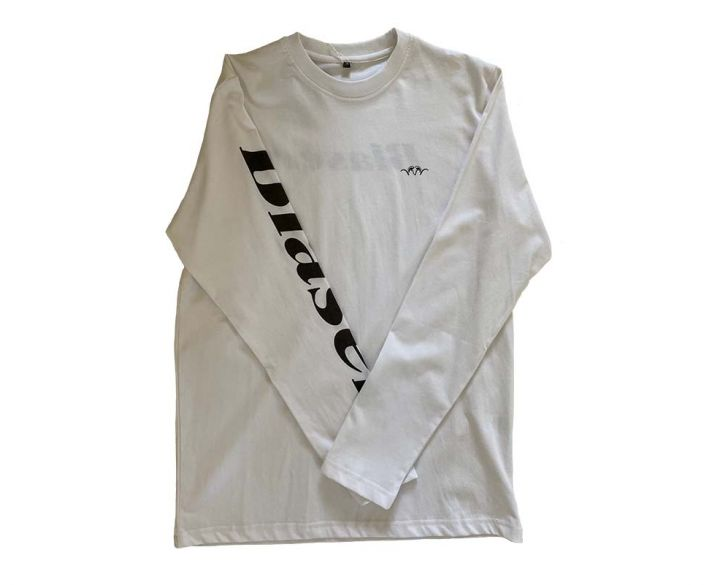 Blaser long sleeve tshirt white