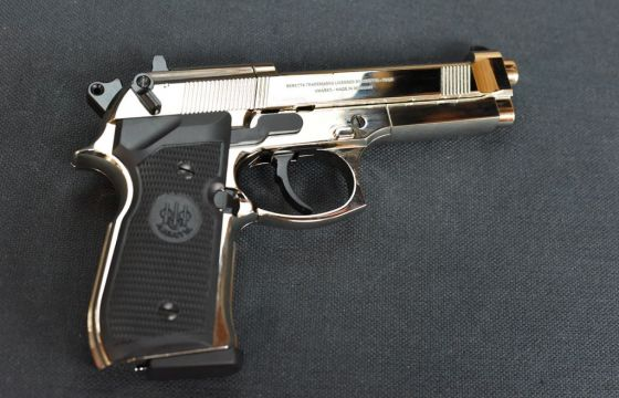 Beretta M92F CHROME