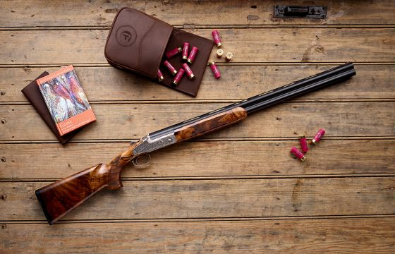 Blaser F3 Custom III Heritage Scroll 12 gauge