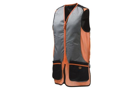 Beretta Silver Pigeon Black & Orange Vest