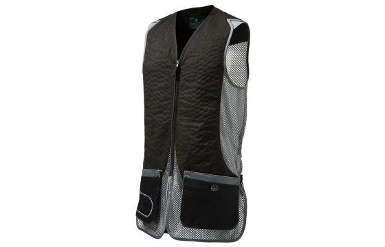 Beretta DT11 Black & Dark Grey Skeet Vest