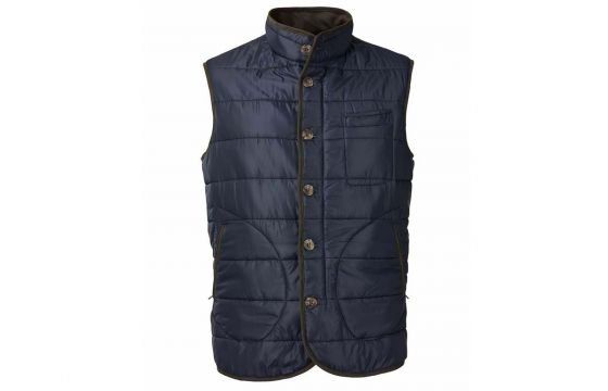 Laksen Donnington Quilted Vest (Navy)