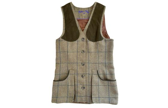 Laksen Eden Tweed Ladies Vest (Size 8)