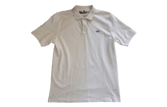 Blaser Polo Men White (Large)