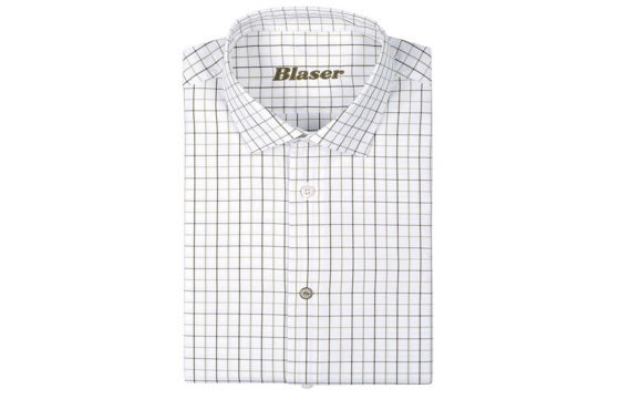 Blaser Oxford Shirt - Green Check