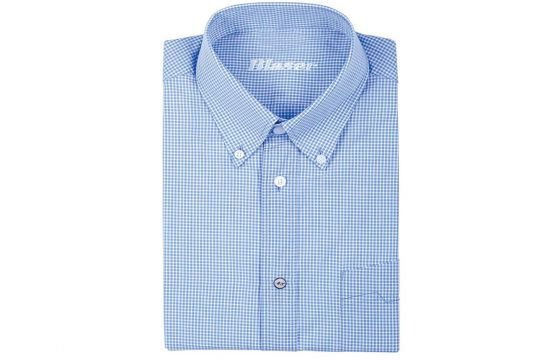 Blaser Popeline Shirt - Blue Check