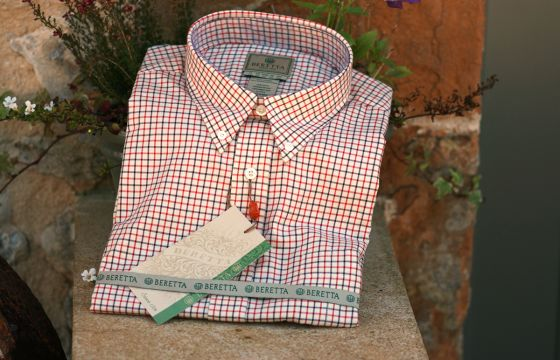 Beretta Shirt  - beige and red