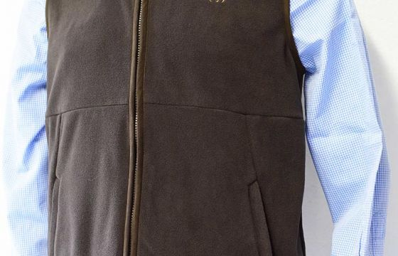 Blaser Fleece Vest Philipp - Brown